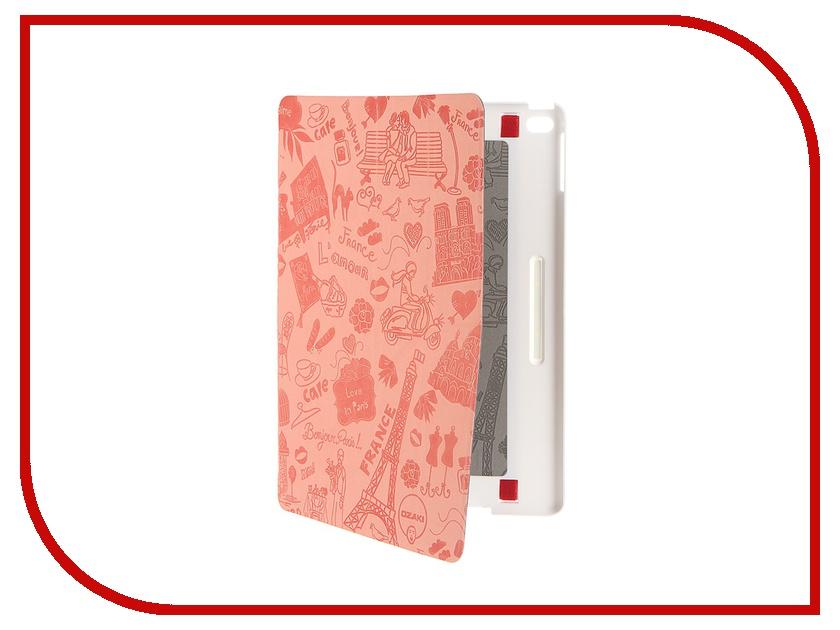 Аксессуар Чехол Ozaki O!Coat Travel для APPLE iPad Air 2 Paris OC119PR Light Pink<br>