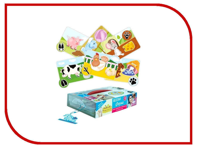 Настольная игра Pic N Mix Веселая ферма 112007 pic n mix обучающая игра пазл липучка веселая ферма