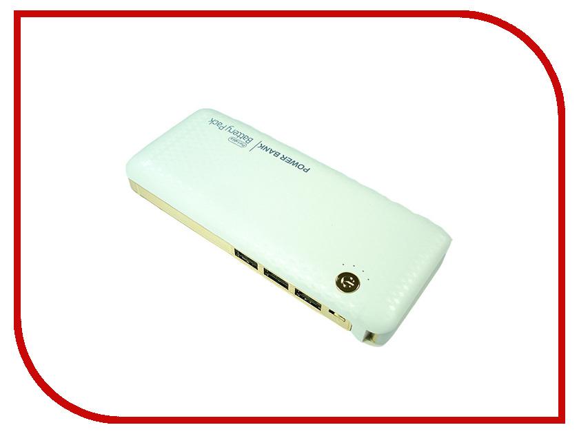Аккумулятор GlobusGPS GL-PB29 20000 mAh White<br>