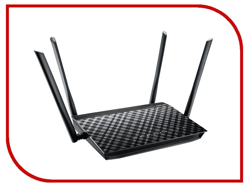 Wi-Fi роутер ASUS RT-AC1200G Plus wi fi роутер asus rt ac1200 rt ac1200