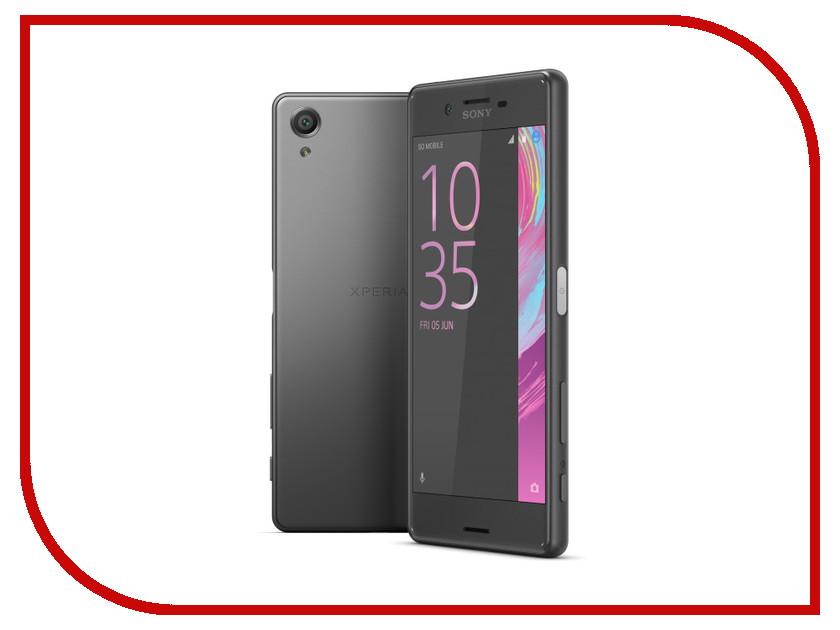 Сотовый телефон Sony F5122 Xperia X Dual Graphite Black сотовый телефон sony f8131 xperia x performance rose gold
