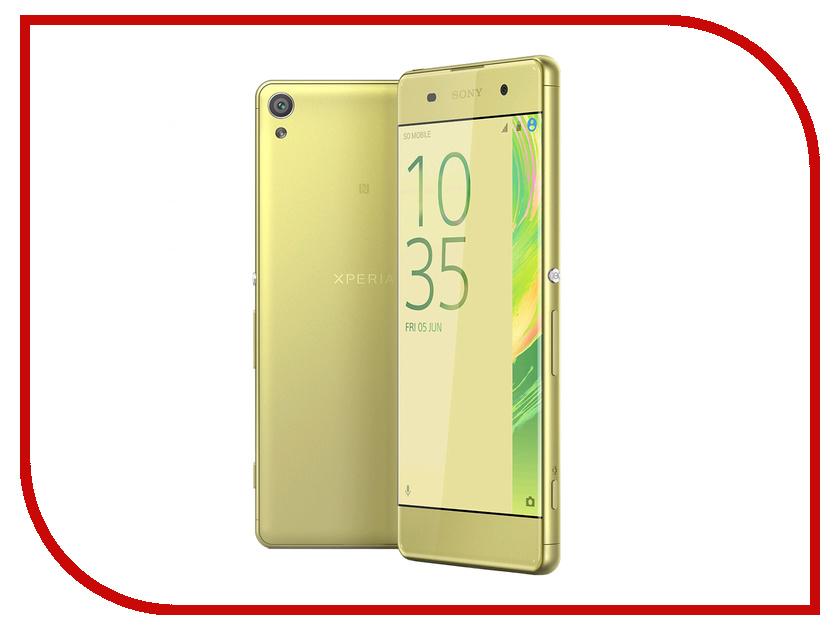 Сотовый телефон Sony F3112 Xperia XA Dual Lime Gold
