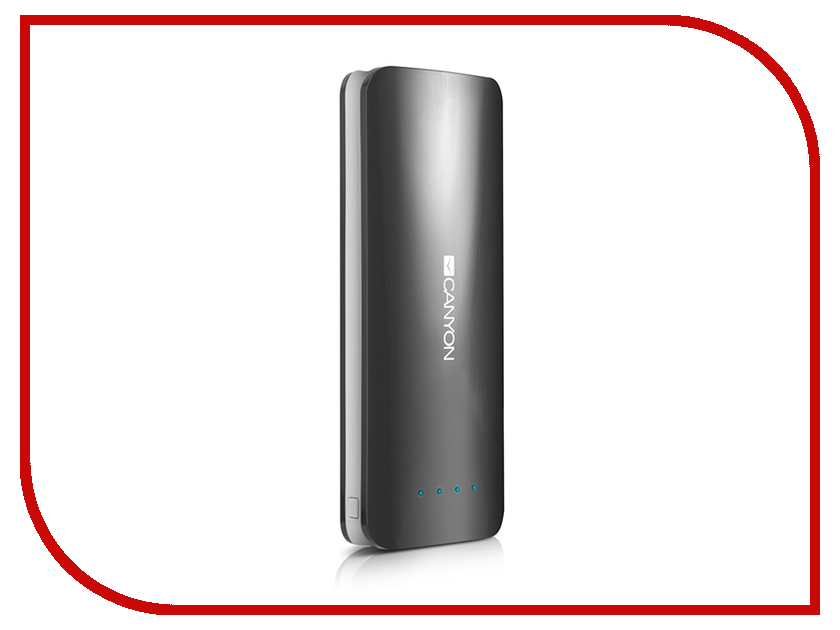 Фото Аккумулятор Canyon CNE-CPB156 15600mAh Dark Grey CNE-CPB156DG