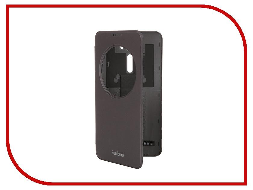 Аксессуар Чехол ASUS ZenFone 2 Laser ZE600KL/ZE601KL View Flip Cover Silver 90AC00W0-BCV001<br>