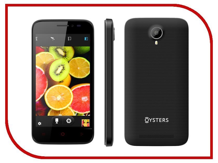 Сотовый телефон Oysters Atlantic V Black<br>