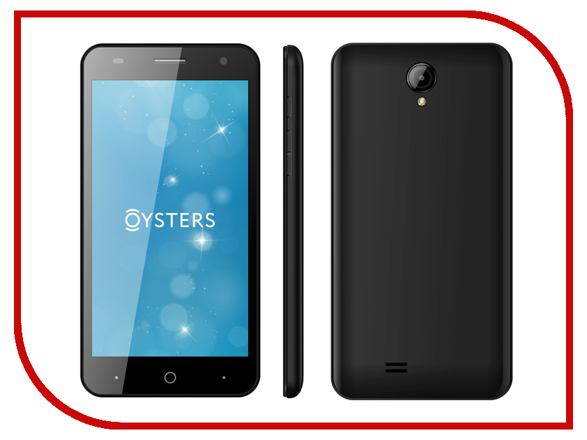 Сотовый телефон Oysters Pacific V Black<br>