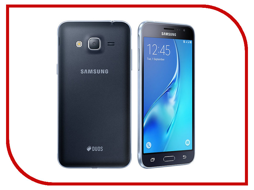 Сотовый телефон Samsung SM-J320F/DS Galaxy  2016 Black