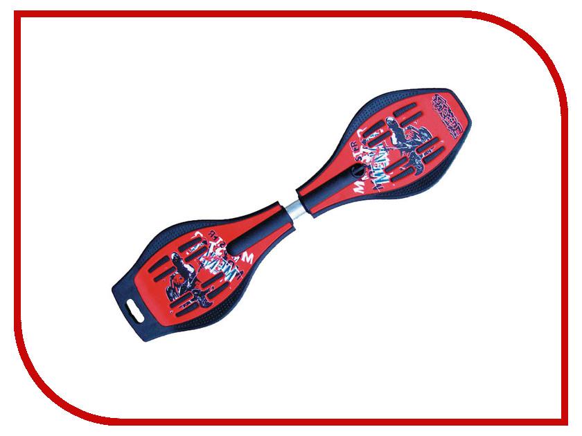 Скейт Hello Wood HW-B-010B Red