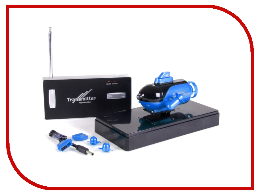 Игрушка Pilotage Mini Submarine Blue RC13508 игрушка pilotage top racer 4 rc47967