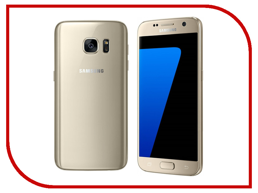 Сотовый телефон Samsung SM-G930FD Galaxy S7 32Gb Gold Platinum<br>