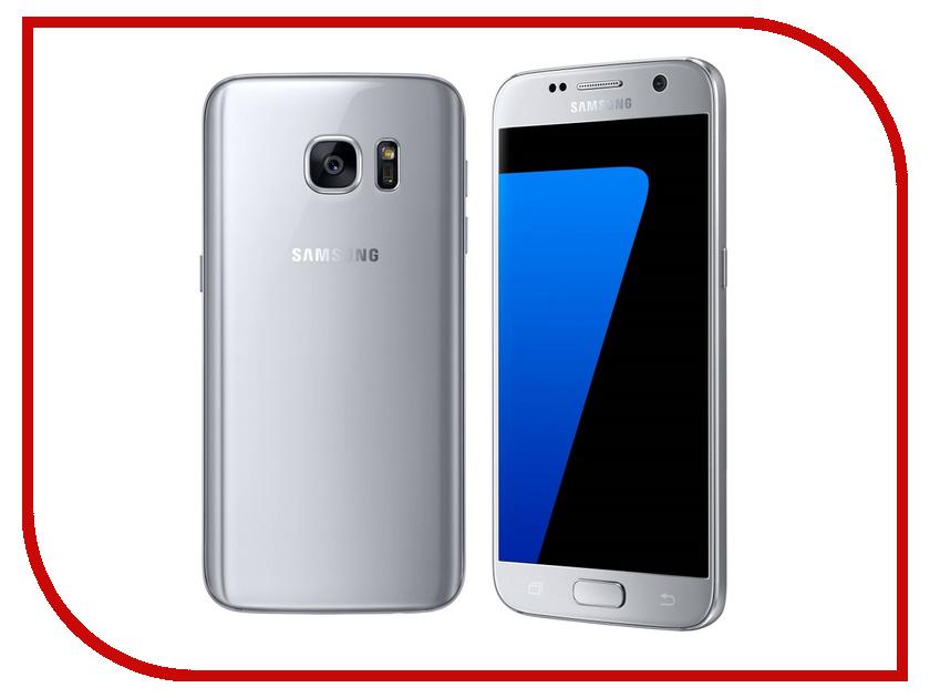Сотовый телефон Samsung SM-G930FD Galaxy S7 32Gb Silver Titanium<br>