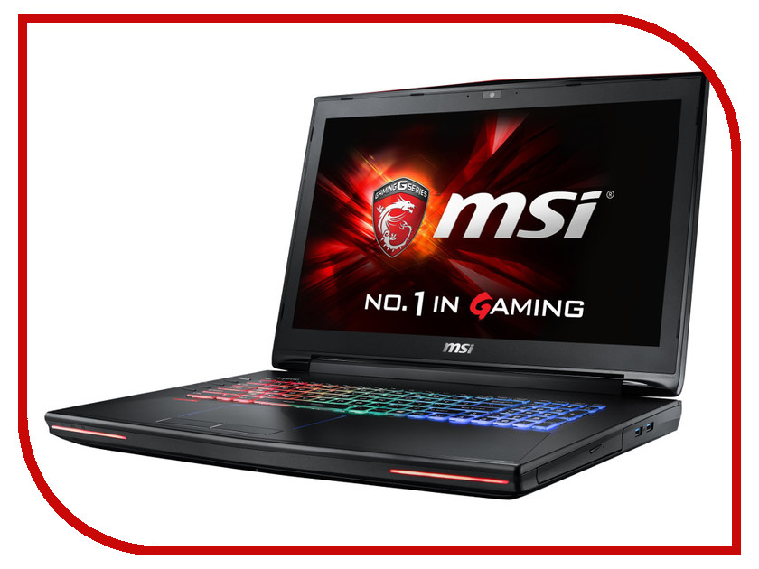 Ноутбук MSI GT72 6QD-844RU 9S7-178211-844 Intel Core i7-6700HQ 2.6 GHz/16384Mb/1000Gb/DVD-RW/nVidia GeForce GTX 970M 3072Mb/Wi-Fi/Bluetooth/Cam/17.3/1920x1080/Windows 10 64-bit<br>