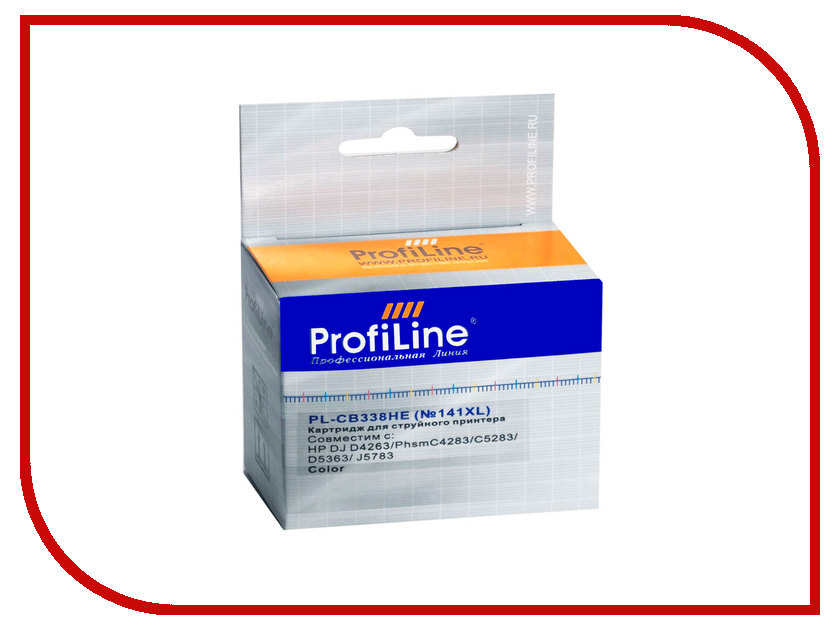 Картридж ProfiLine PL-CB338HE №141XL for HP DJ D4263/PhsmC4283/C5283/D5363/J5783 Color