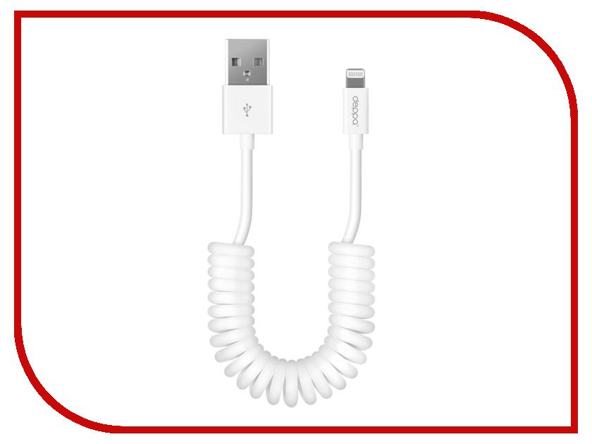 Аксессуар Deppa USB - 8-pin 1.5m White 72132 аксессуар