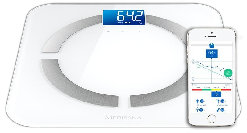 Весы напольные Medisana BS 430 Connect 40422