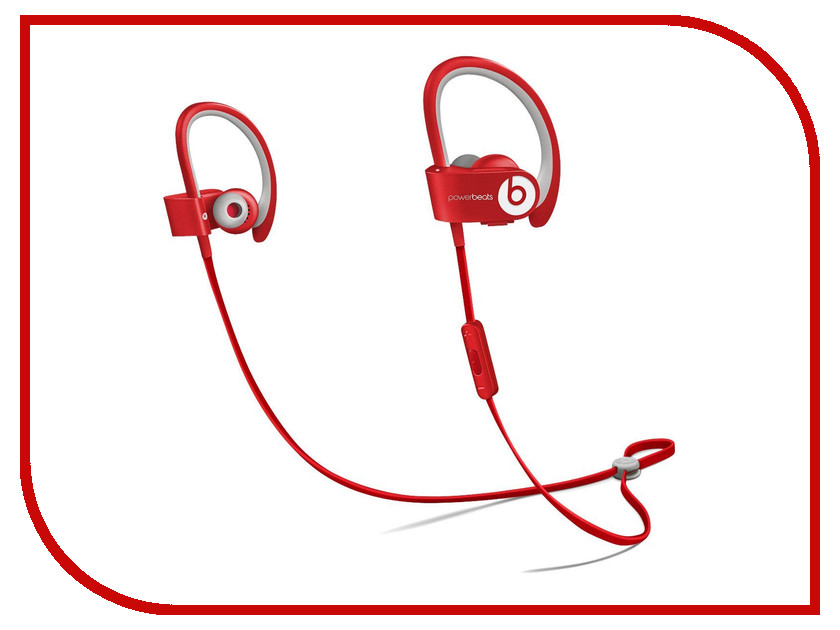 Гарнитура Beats Powerbeats 2 In-Ear Red MKPY2ZE/A<br>