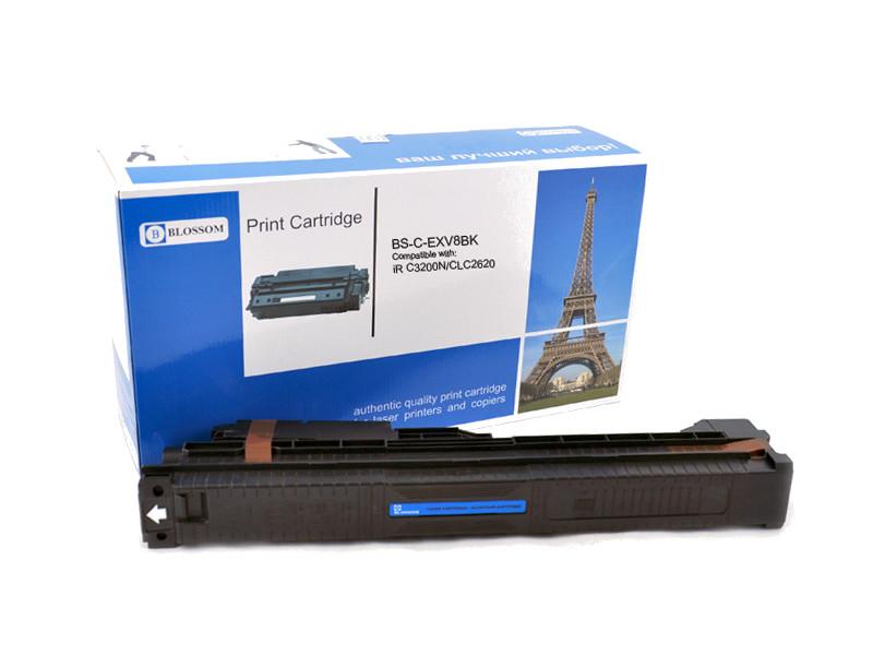 Картридж Blossom BS-C-EXV8BK для Canon iR C3200N/C3220/CLC2620 Black