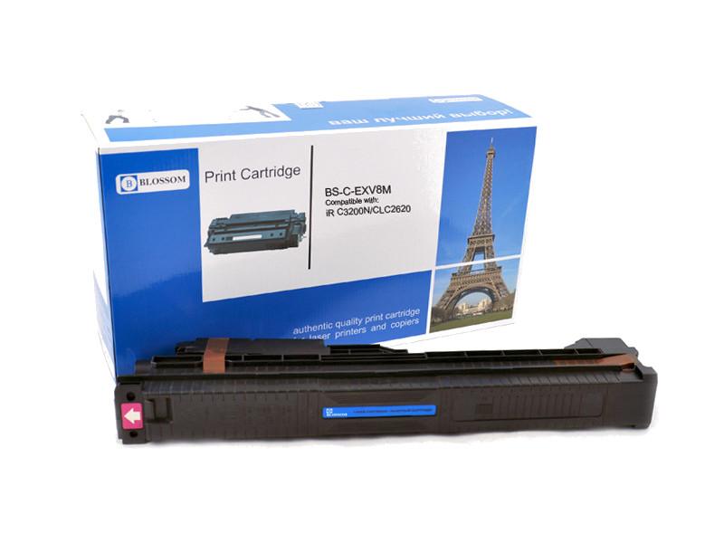 Картридж Blossom BS-C-EXV8M для Canon iR C3200N/C3220/CLC2620 Magenta
