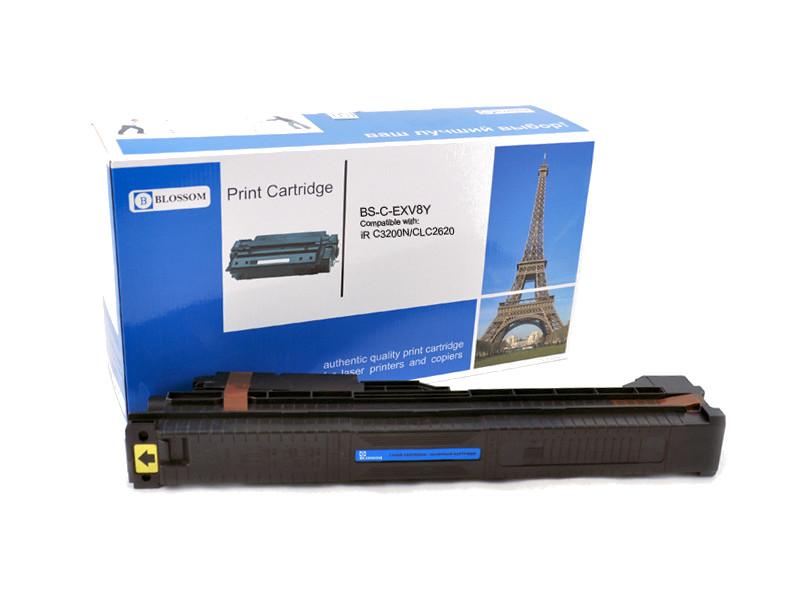 Картридж Blossom BS-C-EXV8Y для Canon iR C3200N/C3220/CLC2620 Yellow
