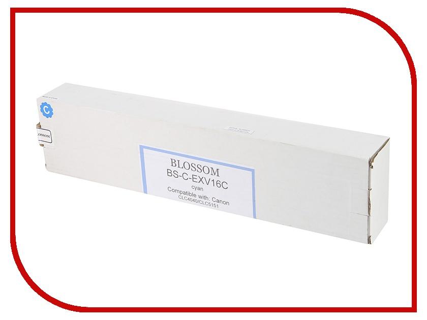 Картридж Blossom BS-C-EXV16C для Canon iR CLC4040/CLC5151 Cyan<br>