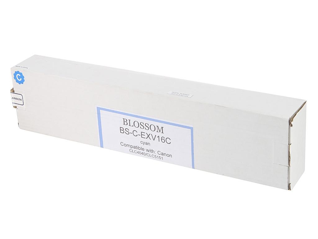 Картридж Blossom BS-C-EXV16C для Canon iR CLC4040/CLC5151 Cyan