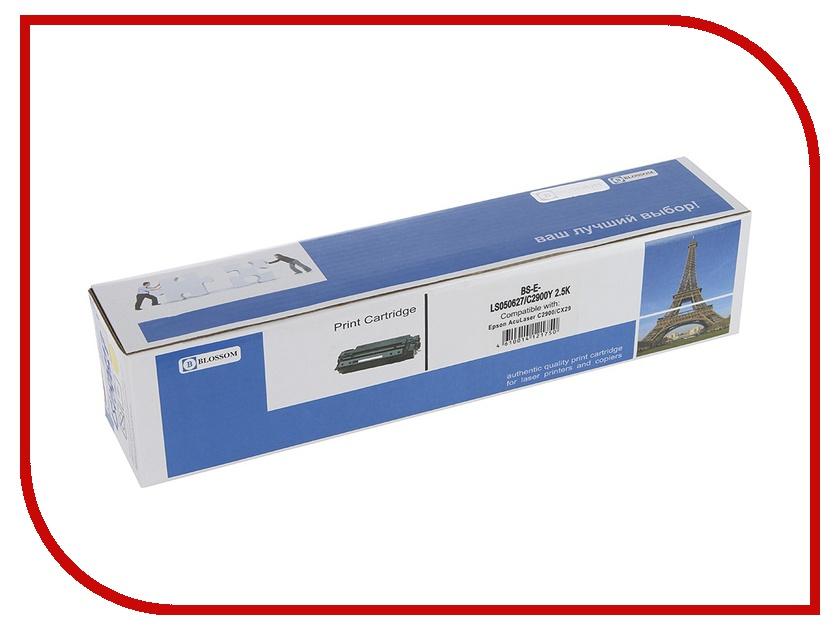 Картридж Blossom BS-EPLS050627 для Epson AcuLaser C2900DN/C2900N/CX29NF Yellow<br>