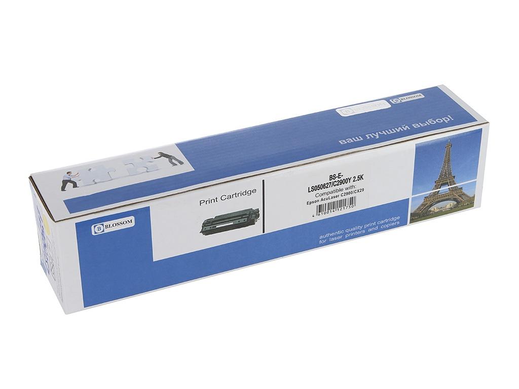 Картридж Blossom BS-EPLS050627 для Epson AcuLaser C2900DN/C2900N/CX29NF Yellow