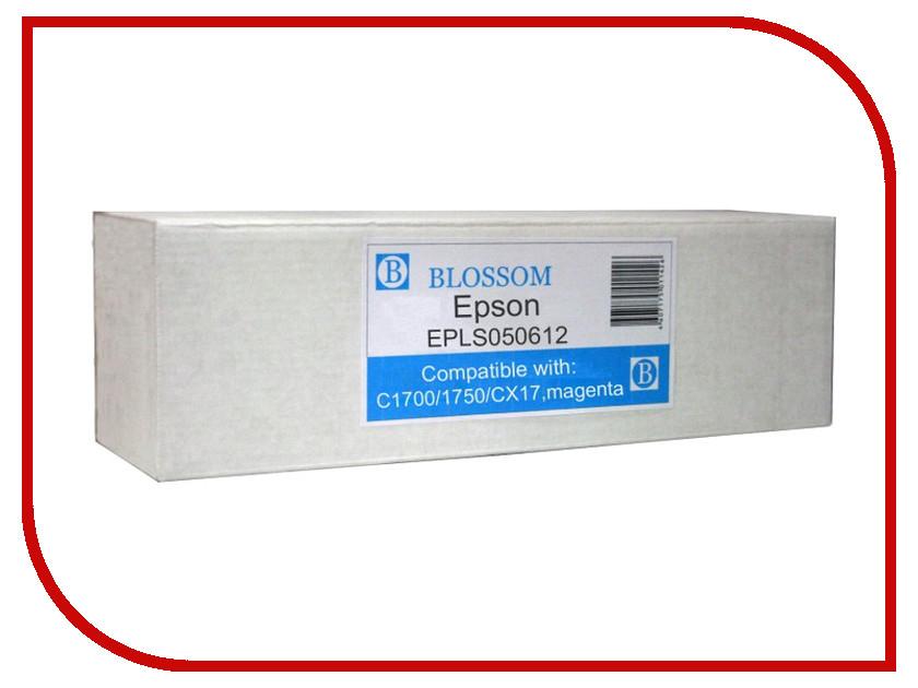 Картридж Blossom BS-EPLS050612 для Epson C1700/1750/CX17 Magenta серьги с жемчугом московский ювелирный завод