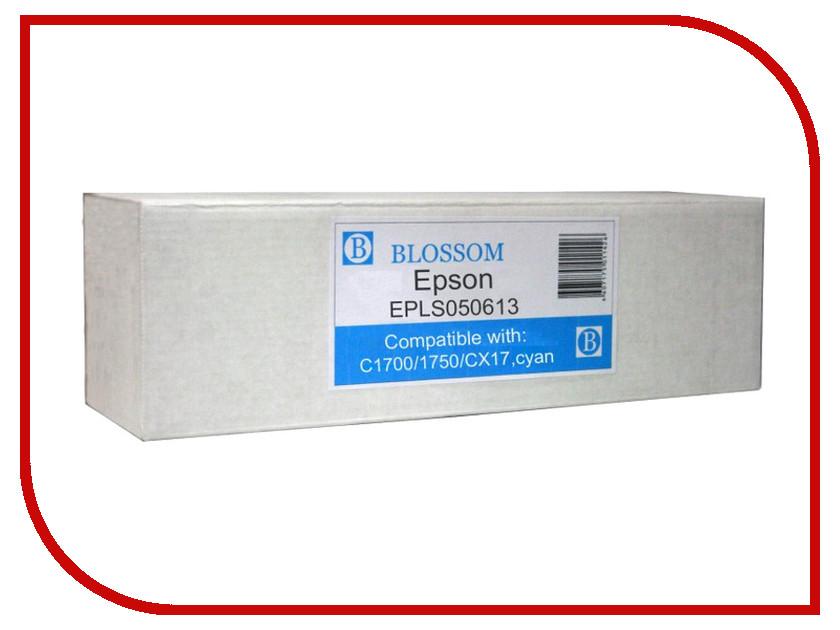 Картридж Blossom BS-EPLS050613 для Epson C1700/1750/CX17 Cyan<br>
