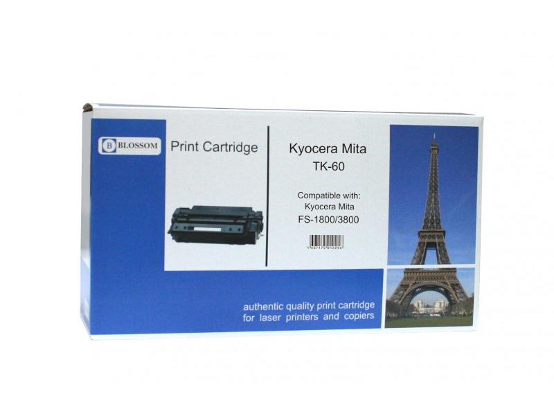 Картридж Blossom BS-TK60 для Kyocera Mita FS-1800/3800 Black картридж blossom bs tk1130 black for kyocera mita fs 1030mfp dp 1130mfp