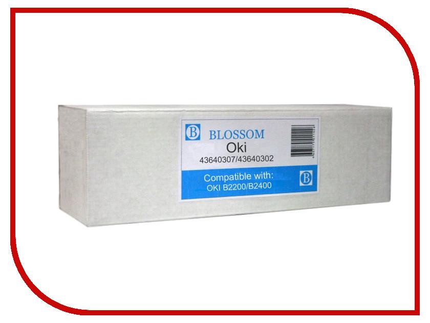 Картридж Blossom BS-43640307/43640302 для OKI B2200/B2400 Black<br>
