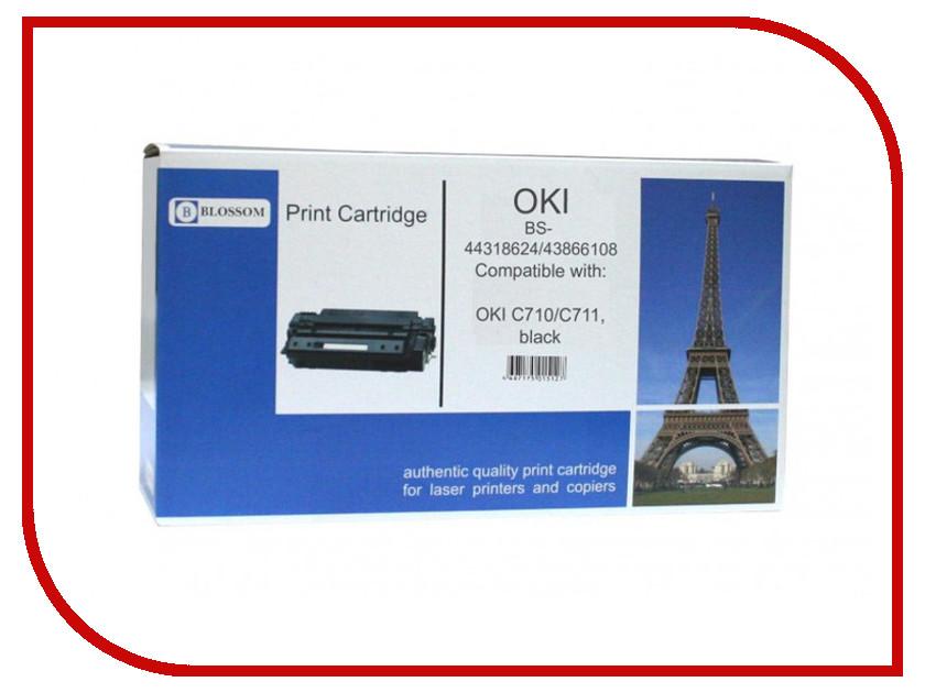 Картридж Blossom BS-44318624/43866108 для OKI C710/C711 Black<br>