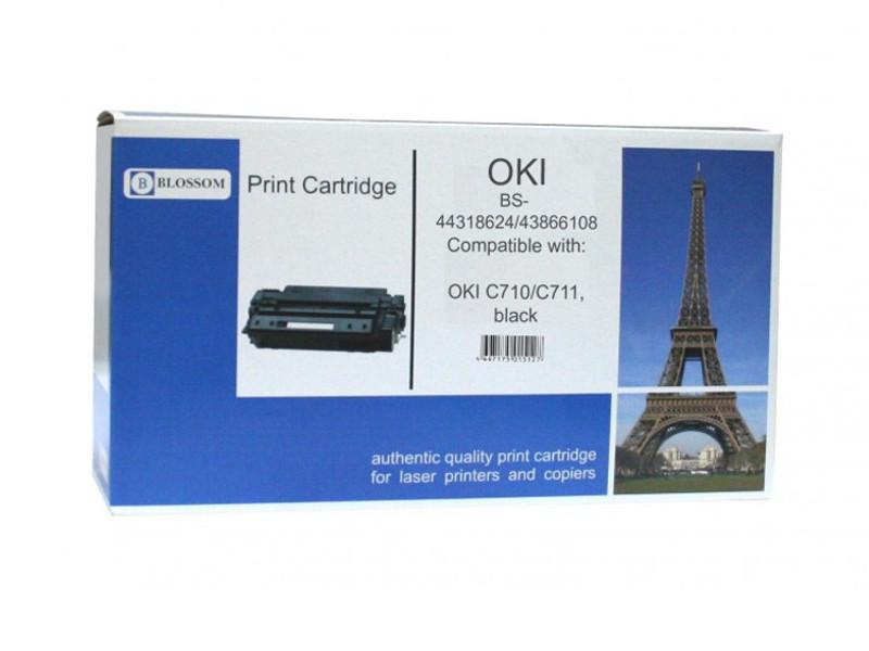 Картридж Blossom BS-44318624/43866108 для OKI C710/C711 Black