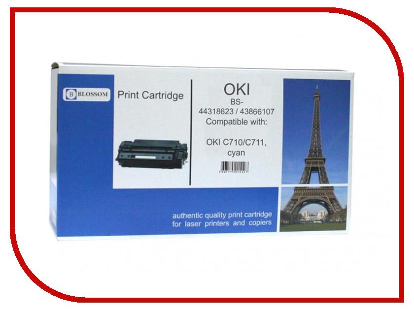 Картридж Blossom BS-44318623/43866107 для OKI C710/C711 Cyan<br>