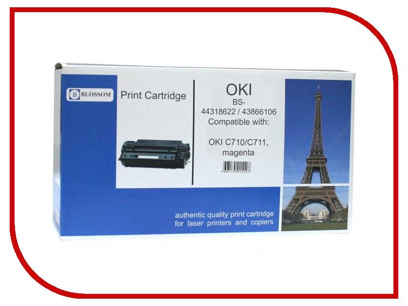 Картридж Blossom BS-44318622/43866106 для OKI C710/C711 Magenta