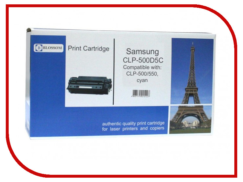 Картридж Blossom BS-SgCLP-500D5C для Samsung CLP-500/550 Cyan<br>