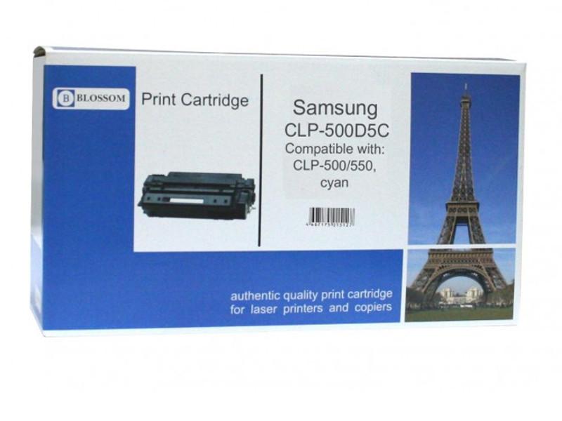 Картридж Blossom BS-SgCLP-500D5C для Samsung CLP-500/550 Cyan