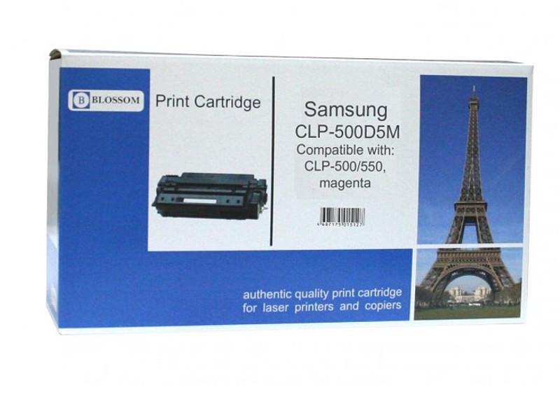 Картридж Blossom BS-SgCLP-500D5M для Samsung CLP-500/550 Magenta