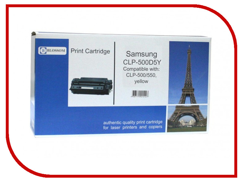 Картридж Blossom BS-SgCLP-500D5Y для Samsung CLP-500/550 Yellow dusters dusters cruisin blossom