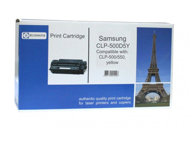 Картридж Blossom BS-SgCLP-500D5Y для Samsung CLP-500/550 Yellow
