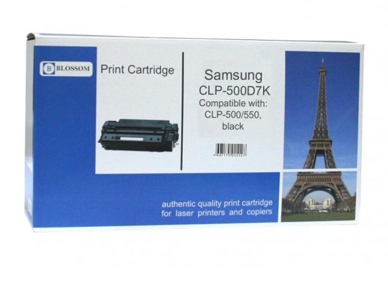 Картридж Blossom BS-SgCLP-500D7K для Samsung CLP-500/550 Black