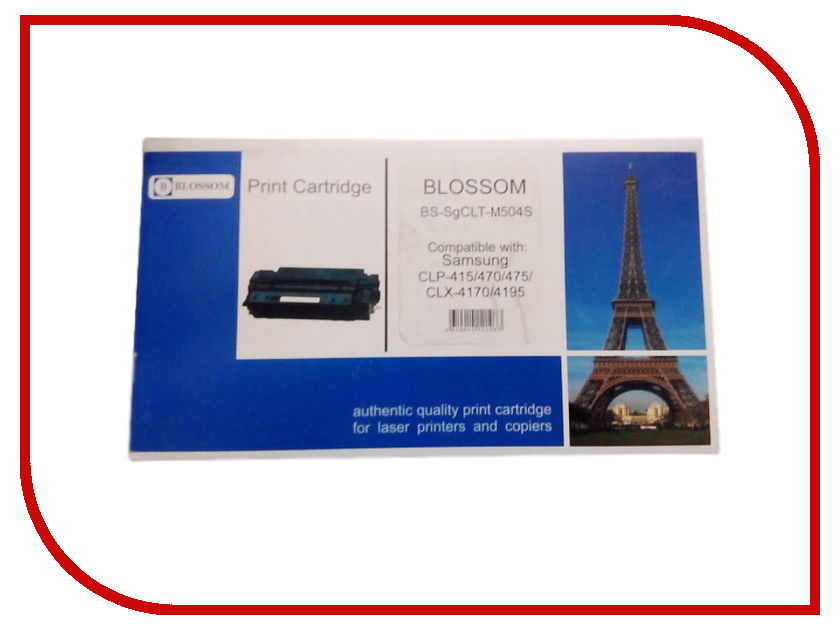 Картридж Blossom BS-SgCLT-M504S для Samsung CLP-415/470/475/CLX-4170/4195 Magenta<br>