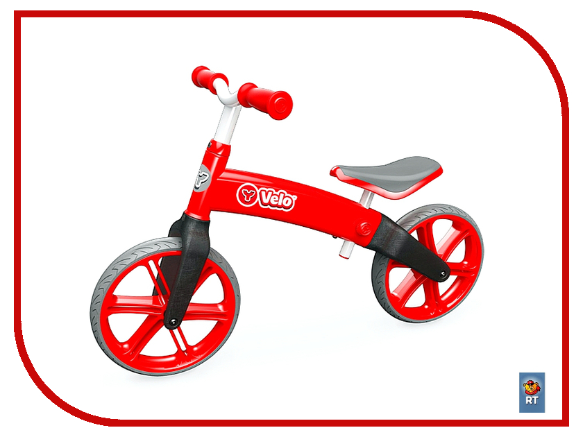Беговел Y-BIKE Y-volution Y-VELO Balance bike Red 100002<br>
