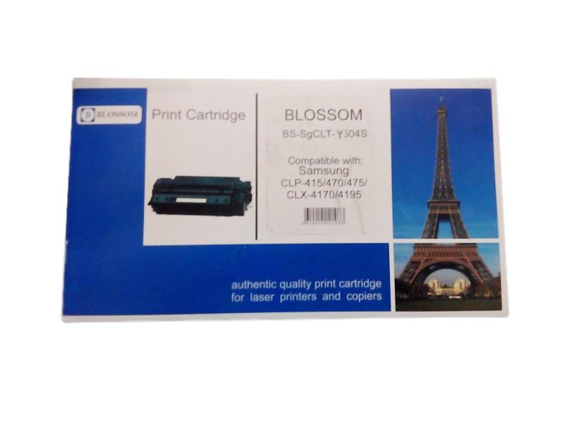Картридж Blossom BS-SgCLT-Y504S для Samsung CLP-415/470/475/CLX-4170/4195 Yellow<br>