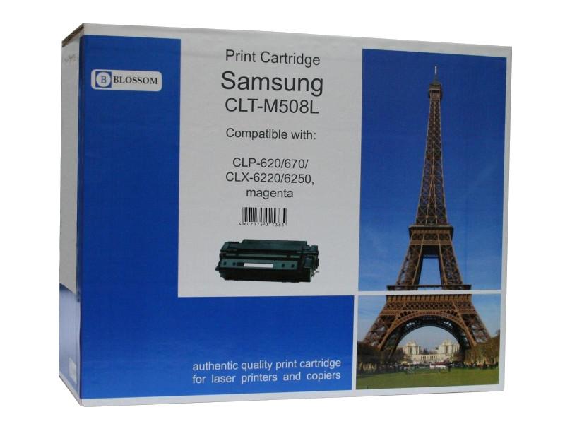 Картридж Blossom BS-SgCLT-M508L для Samsung CLP-620/670/CLX-6220/6250 Magenta от Pleer