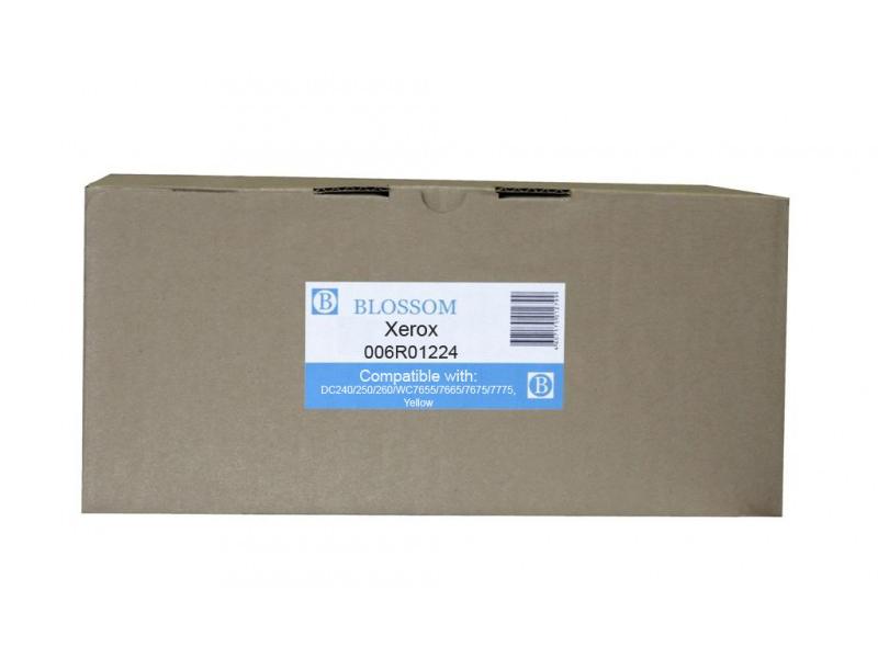 Картридж Blossom BS-X006R01224 для Xerox DC240/250/260/WC7655/7665/7675/7775 Yellow