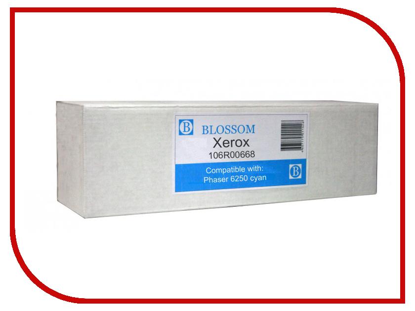 Картридж Blossom BS-X106R00668 для Xerox Phaser 6250 Cyan<br>