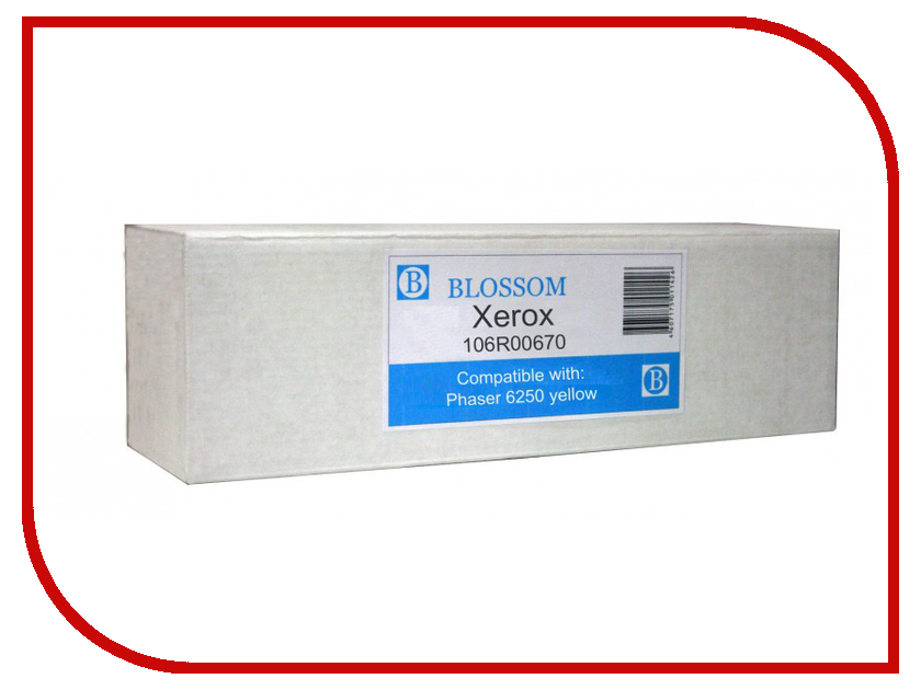 Картридж Blossom BS-X106R00670 для Xerox Phaser 6250 Yellow картридж blossom bs epls050611 для epson c1700 1750 cx17 yellow