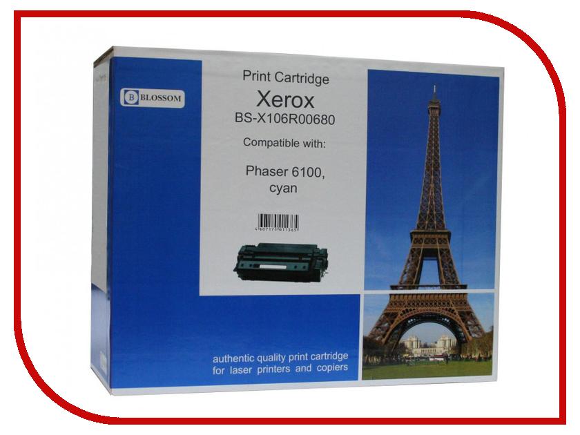 Картридж Blossom BS-X106R00680 для Xerox Phaser 6100 Cyan<br>