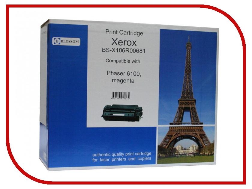 Картридж Blossom BS-X106R00681 для Xerox Phaser 6100 Magenta стоимость